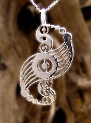 Crop Circle Harmony. This pendant is for sale. Click photo for info.