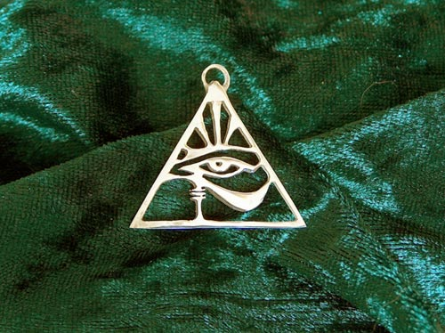 Eye of Horus. This pendant is for sale. Click photo for info