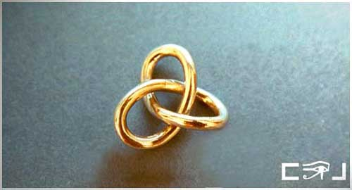 Gordian Knot. This pendant is for sale. Click photo for info
