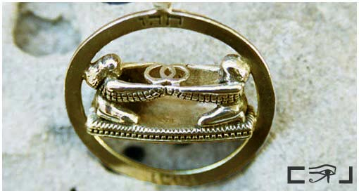 Vesica Pisces from the Ark of the Covenant. Click photo for more info.
