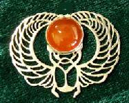 Winged Scarab. Click photo for sale info